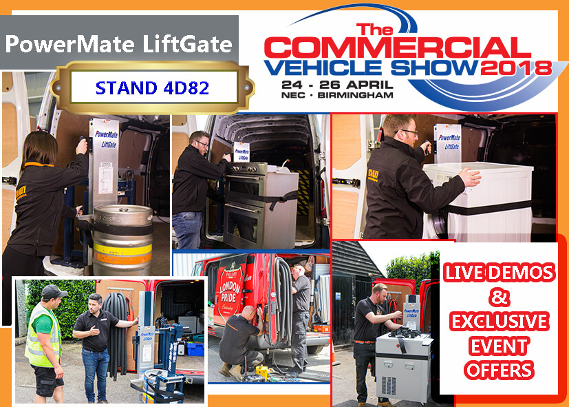 Stanley LiftGate at the CV Show