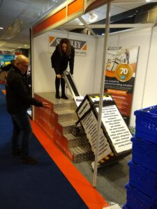 Stand stair climber demo