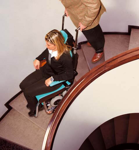 tolo mobility stair climber on stairs