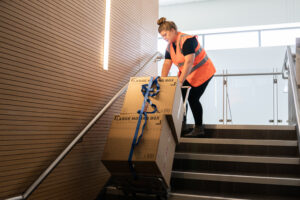 stair climber hire