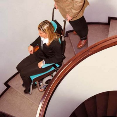 tolo mobility on spiral stairs