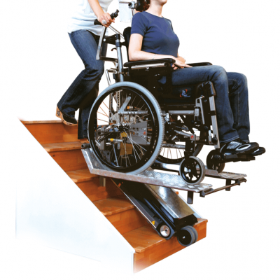 mobility stair climber on stairs
