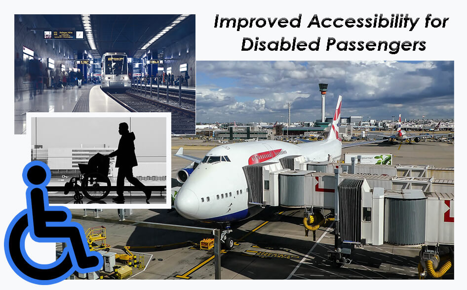 mobility stair climbers for disabled passengers