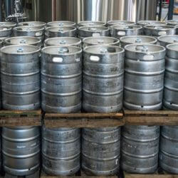 moving kegs from the cellar