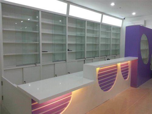 image of retail display shelving