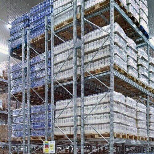galvanised shelving and racking systems