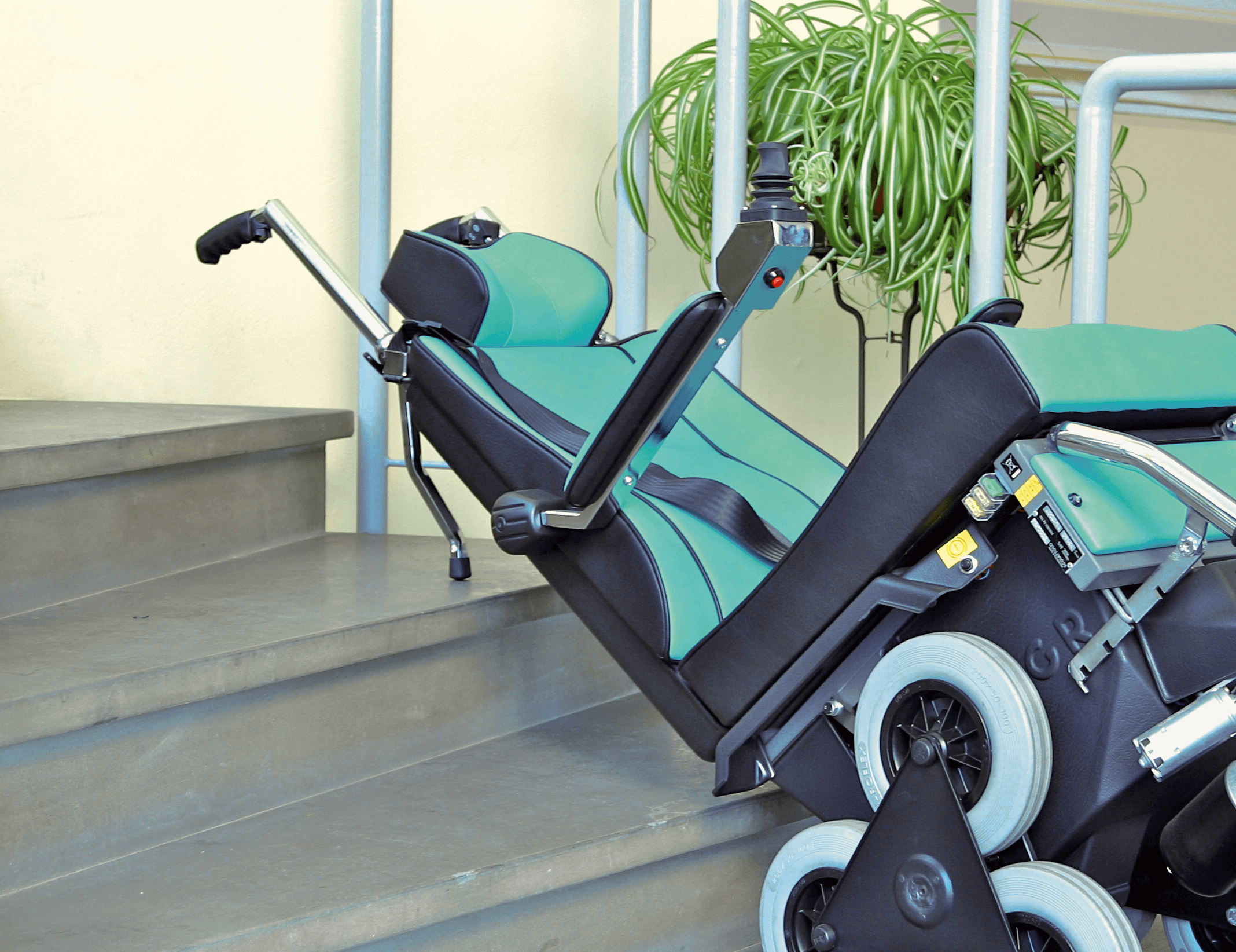 Tolo stair climber braking system